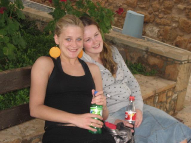LundH och jag i Ayia Napa 2007. Vi är inte riktigt lik oss tycker jag.