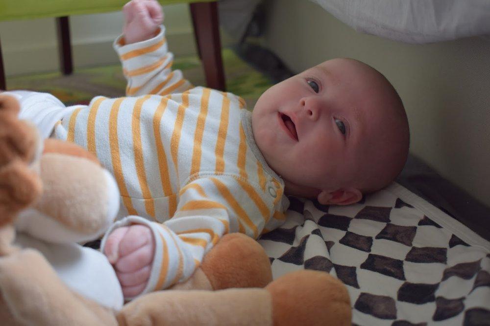 6 veckors bebis