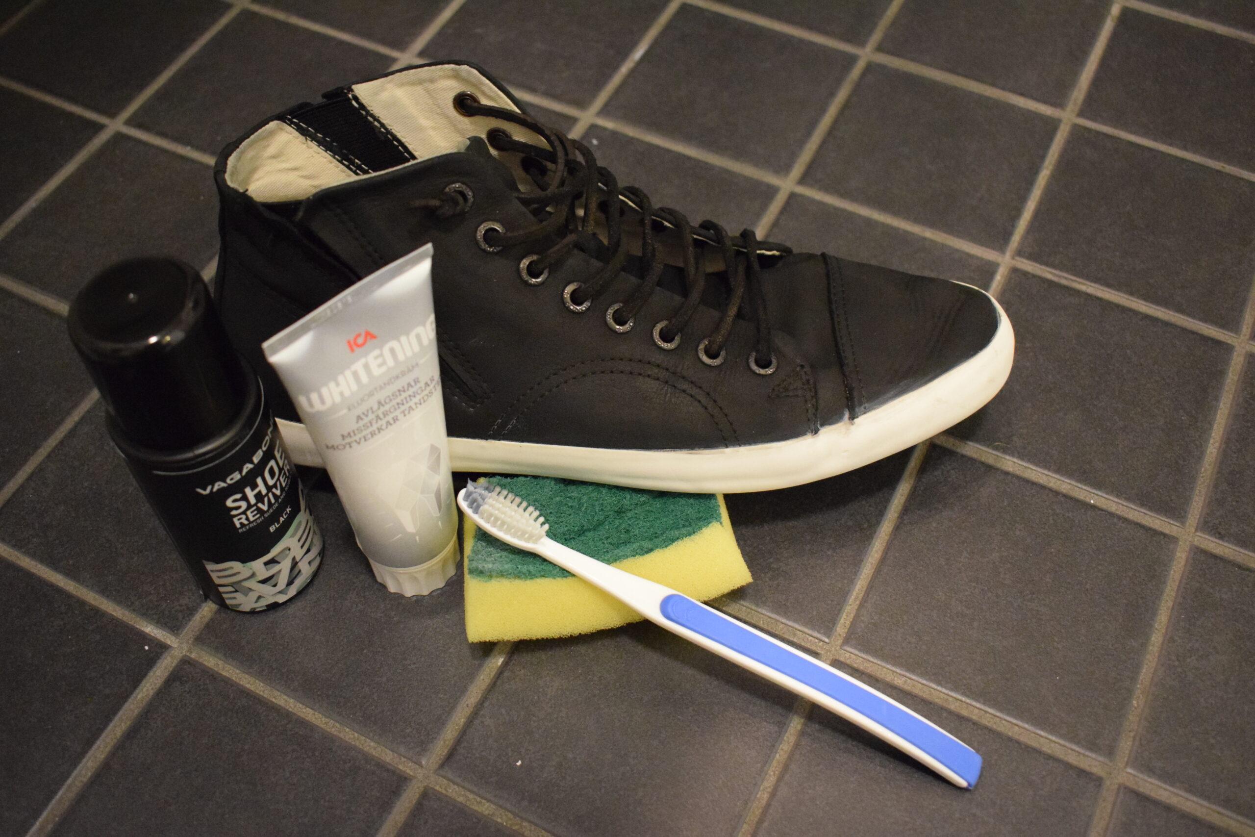 Göra rent sneakers